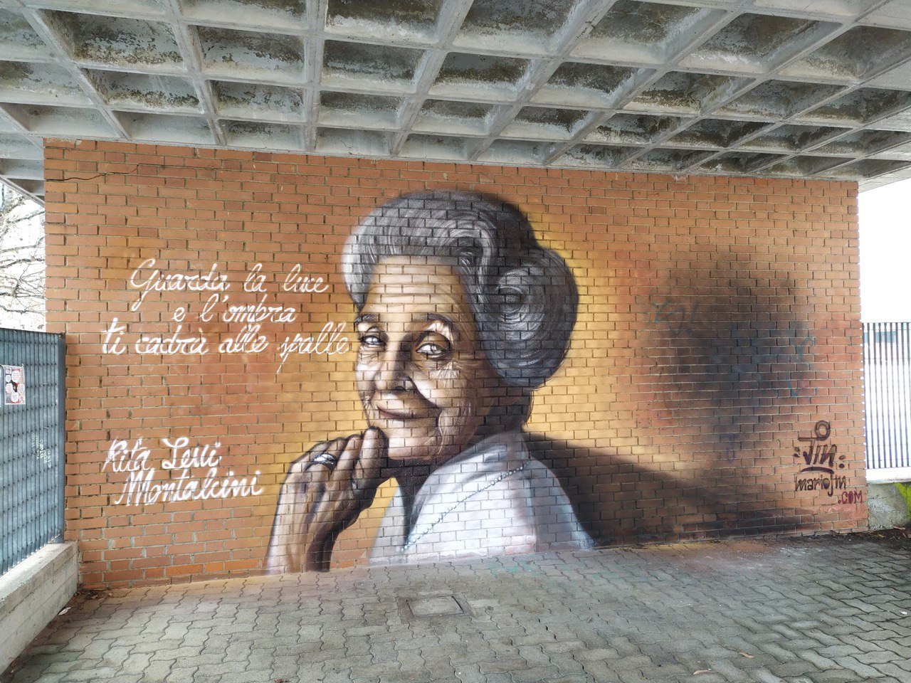Rita Levi Montalcini – Quartieri a colori pt.2
